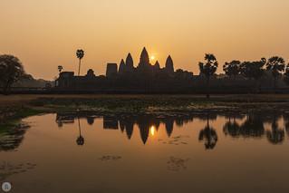 Angkor Wat at sunrise [KH]