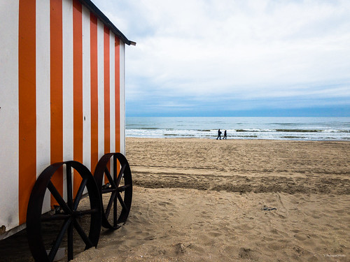Cabine de plage / La Panne