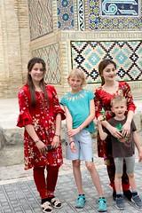 W parku Lyabi-Hauz