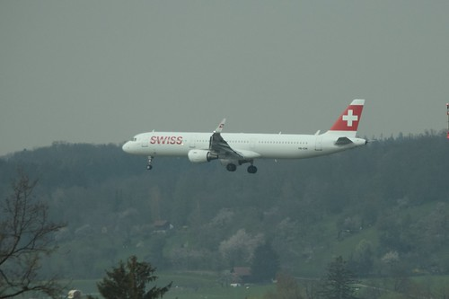 HB-ION Airbus A321 Swiss International