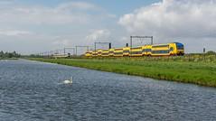Moordrecht NSR DDZ 7612 IC 539 Groningen SLT 2463-2453 Rotterdam