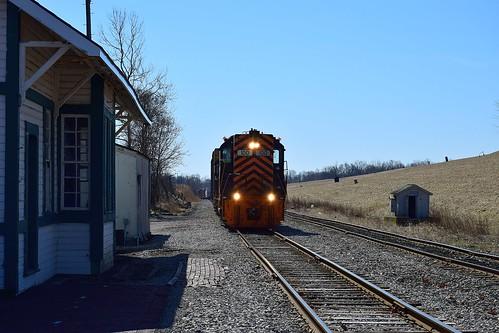 Wheeling & Lake Erie '663 local'