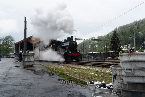 Winter steam: out of the station (3/4)
