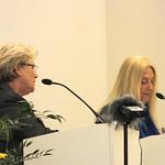 Berlin-Vassula speaks to the audience