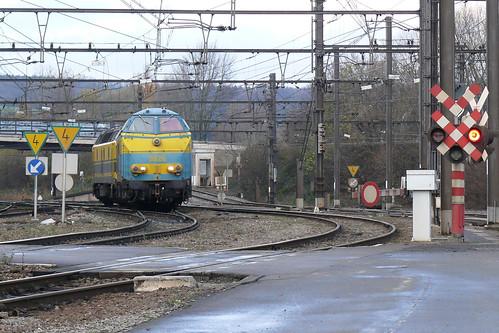 5529 + 5518 Montzen-Gare 30.11.2008