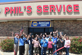 Ribbon Cutting: Phil's Service