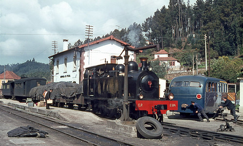 CP E124 & ME53, Sernada do Vouga, 9 April 1971