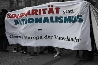 "Demonstration: ""Solidarität statt Nationalismus"" am 07.05.19 in Bielefeld"