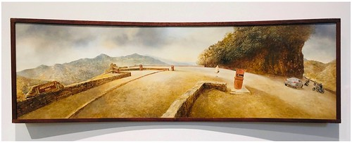 AMPHITHEATER POINT, 2006  | An Oil Painting by Genia Chef