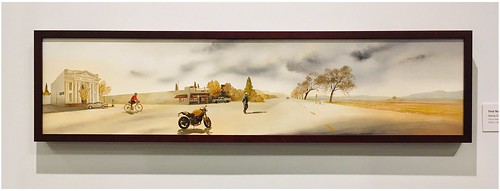 FIRST NORTHERN BANK, 2006 | An Oil Painting by Genia Chef