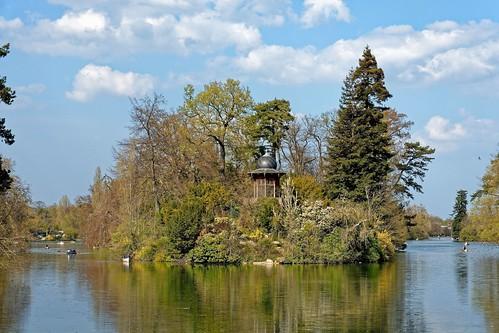 Paris / Bois de Boulogne / Lac Inférieur / Kiosque de l'Empereur