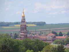 Albert:Basilica of Notre-Dame de Brebières (Somme)