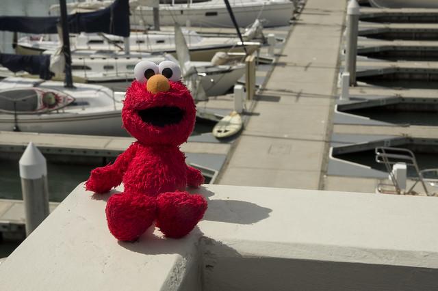 Elmo visits Dana Point 2
