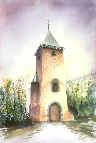 La tour solitaire