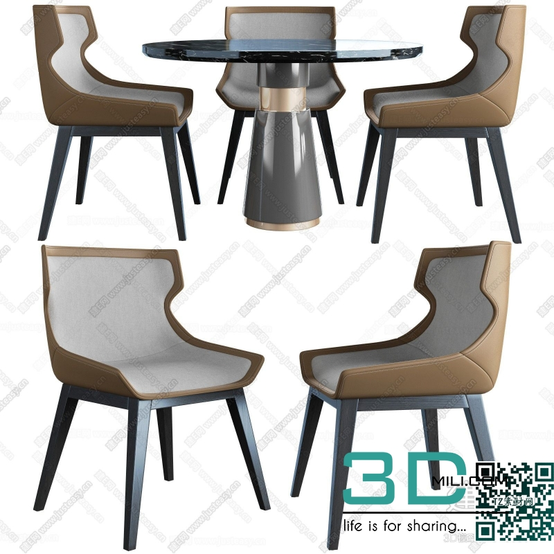 Collections table and chair 3D66 part 3 13