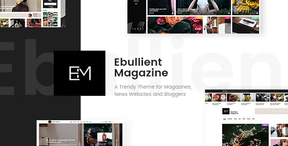 Ebullient v1.3.1 - Modern News and Magazine Theme