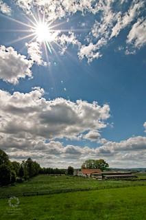 Wolkenbilder bei Gegenlicht