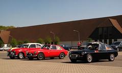 1967/1970 MG MGB GT & 1970 Volvo Amazon