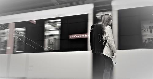Metro desaturada