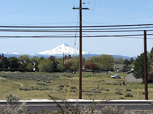 View of Mt. Jefferson from Redmond, Oregon