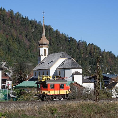 Turmwagen an der Scharnitzer Kirche
