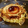 Photo:modan'yaki (okonomiyaki topped with yaki-soba and fried together)  ¥1069 By Takashi H