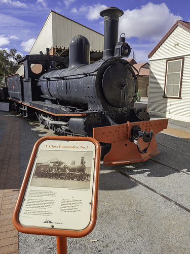 Steam Locomotive Y1, built 1888, formerly of Silverton Tranway Company - see below