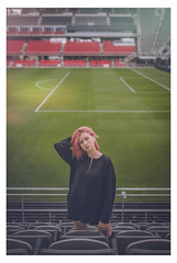 Ann at Audi Field - DC