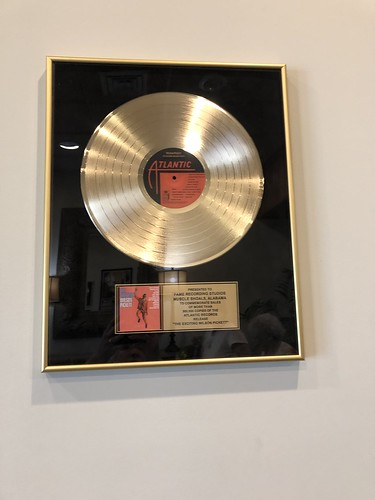 Muscle Shoals Sound Gold Record