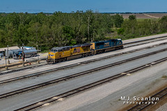 UP 7803 | GE AC45CCTE | UP Marion Intermodal Railport
