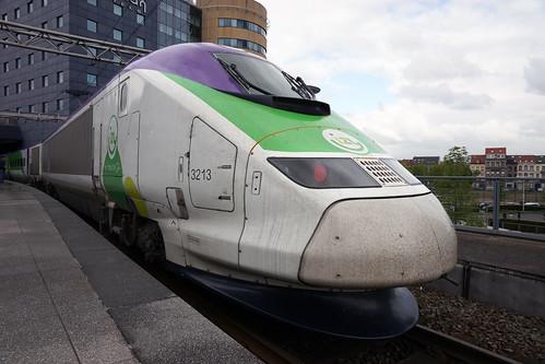 Bruxelles-Midi – TGV ISY ( Rame n° 3213 ex. TMST Eurostar )