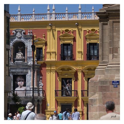 Malaga, Le Palais Episcopal