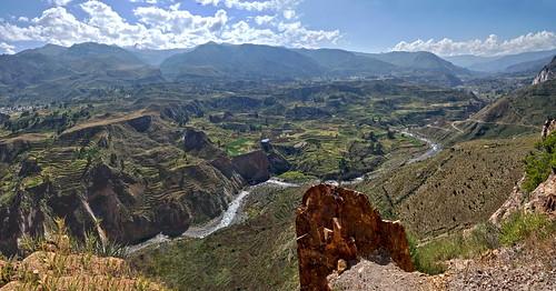 Spectacular panorama