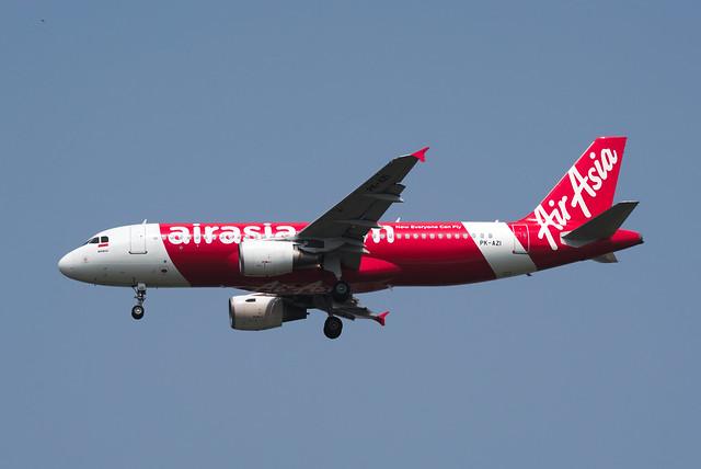 Indonesia AirAsia Airbus A320-214 PK-AZI
