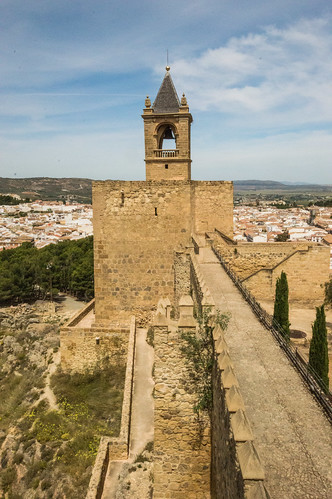 Alcazabar Wall and Bell Tower
