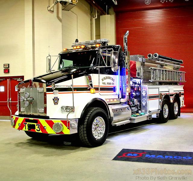 Ickelsburg Fire Department Tanker 3