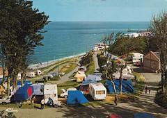 Postcard Fecamp (76 Seine-Maritime) Camping de Renéville Editions CIM Mâcon a