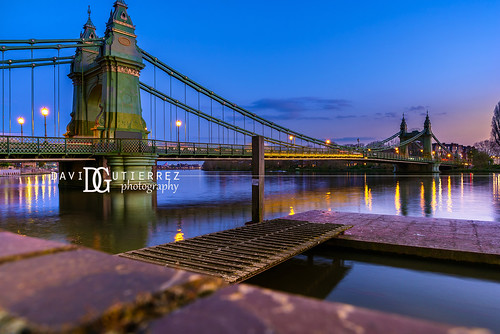 Hammersmith Bridge (III) - London, UK