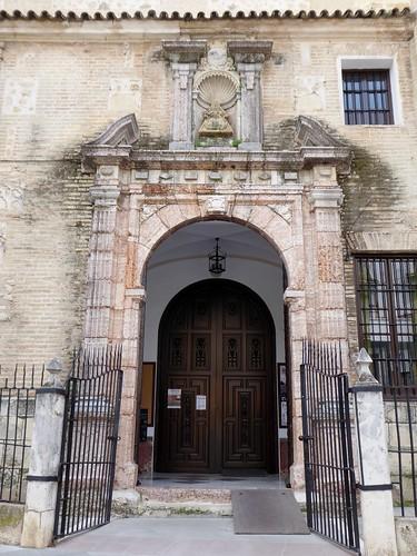 Lucena (Córdoba-España). Iglesia de Santo Domingo. Portada lateral