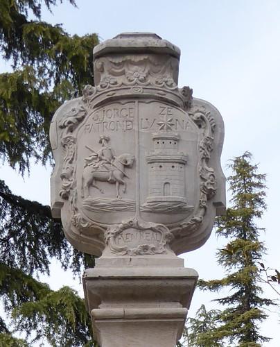 Lucena (Córdoba-España). Calle San Francisco. Fuente Real. Escudo