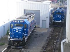 MTA Staten Island Railway Brookville BL20G 776 & 779