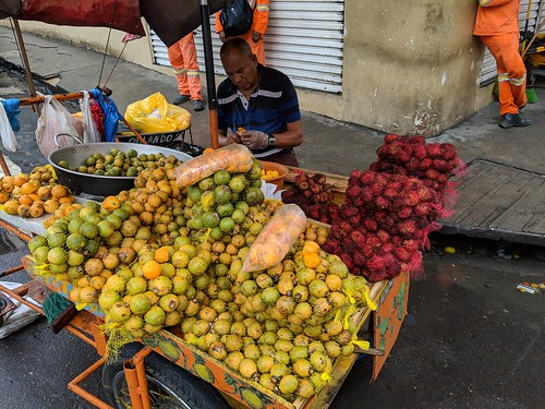 Oranges and Rambutan on Market in Manaus