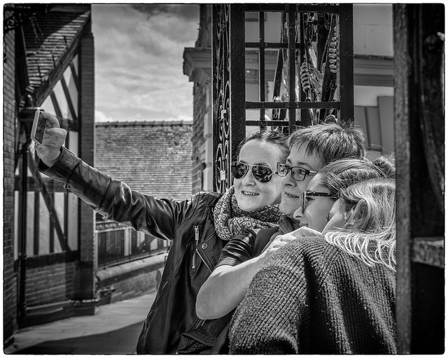 Selfie time in Chester