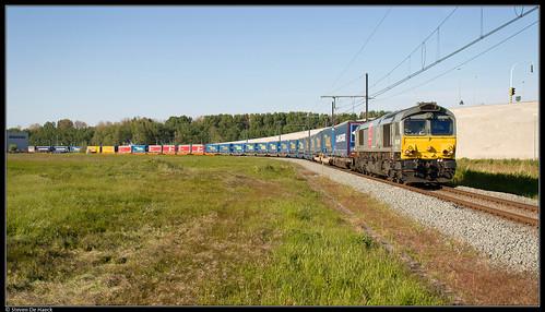 Crossrail DE6309 @ Zeebrugge