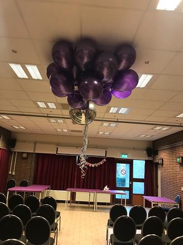 Heliumballonnen Paars De Gaffelaar Zwartewaal
