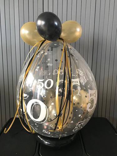 Kadoballon Verjaardag 50 Jaar