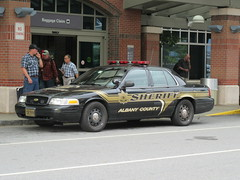 Albany County Sheriff Ford Crown Victoria