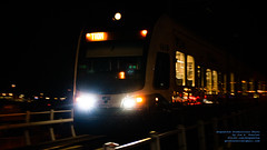 Incoming @SoundTransit Link in A January Night