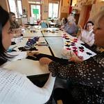 Atelier de création flamenca à l'Ehpad Lesbazeille de Mont-de-Marsan