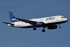 jetBlue Airways - Airbus A320-232 - N519JB - It Had To Be Blue - John F. Kennedy International Airport (JFK) - February 19, 2019 199 RT CRP